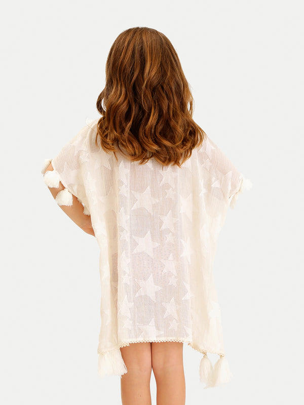 STAR TUNIC GIRL COVER UP