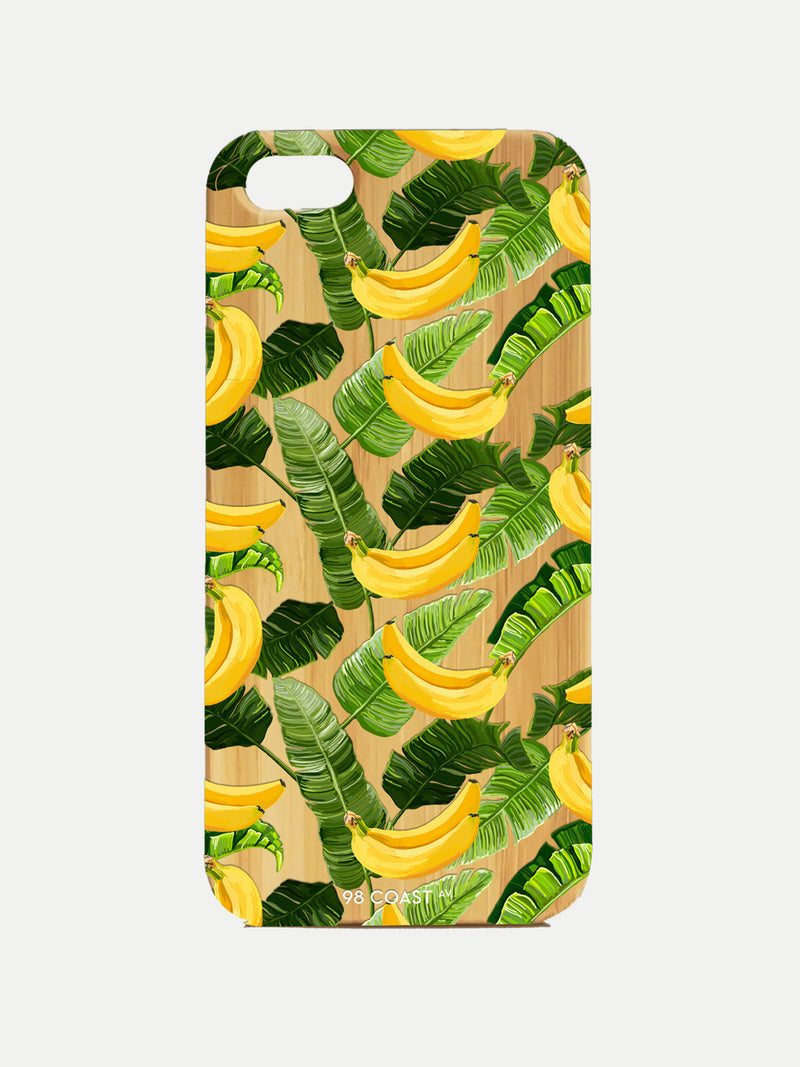 BANANAS BAMBOO IPHONE CASE
