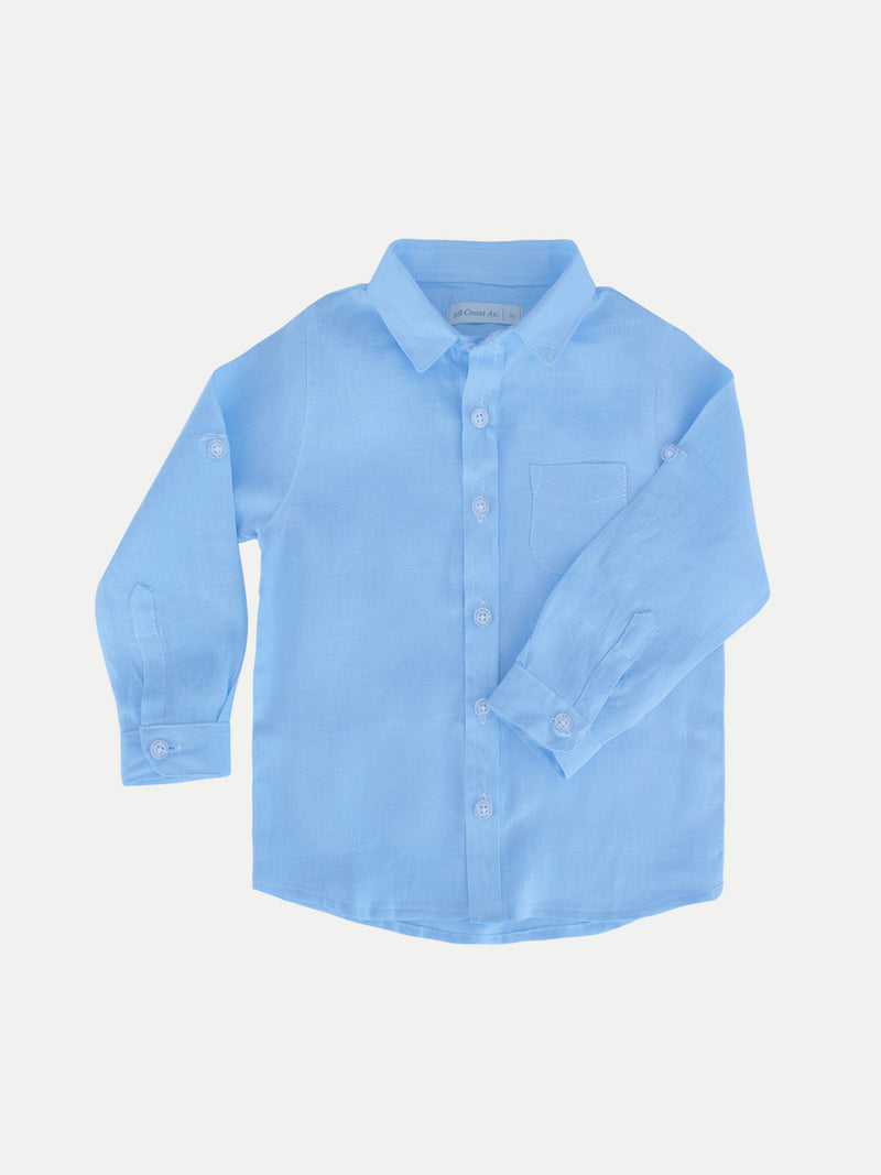 BLUE BOY LINEN SHIRT