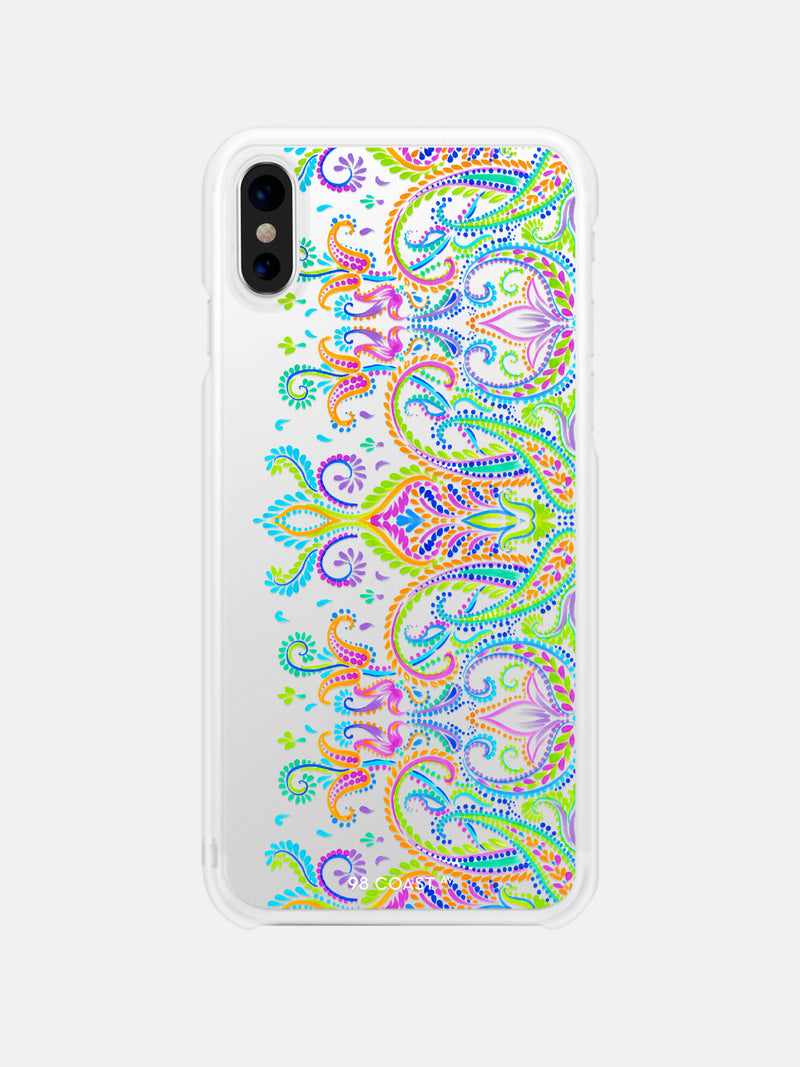 COLOR PAISLEY IPHONE CASE