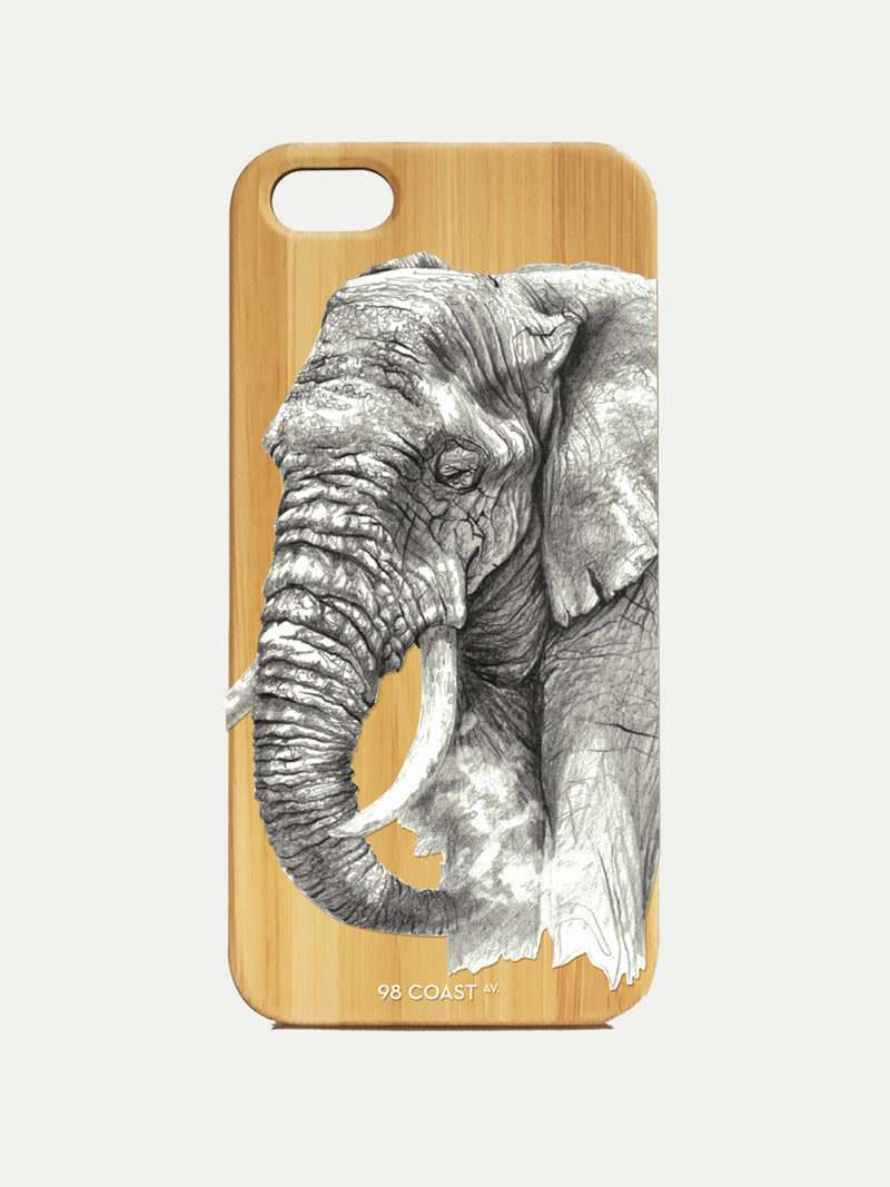 ELEPHANT BAMBOO IPHONE CASE