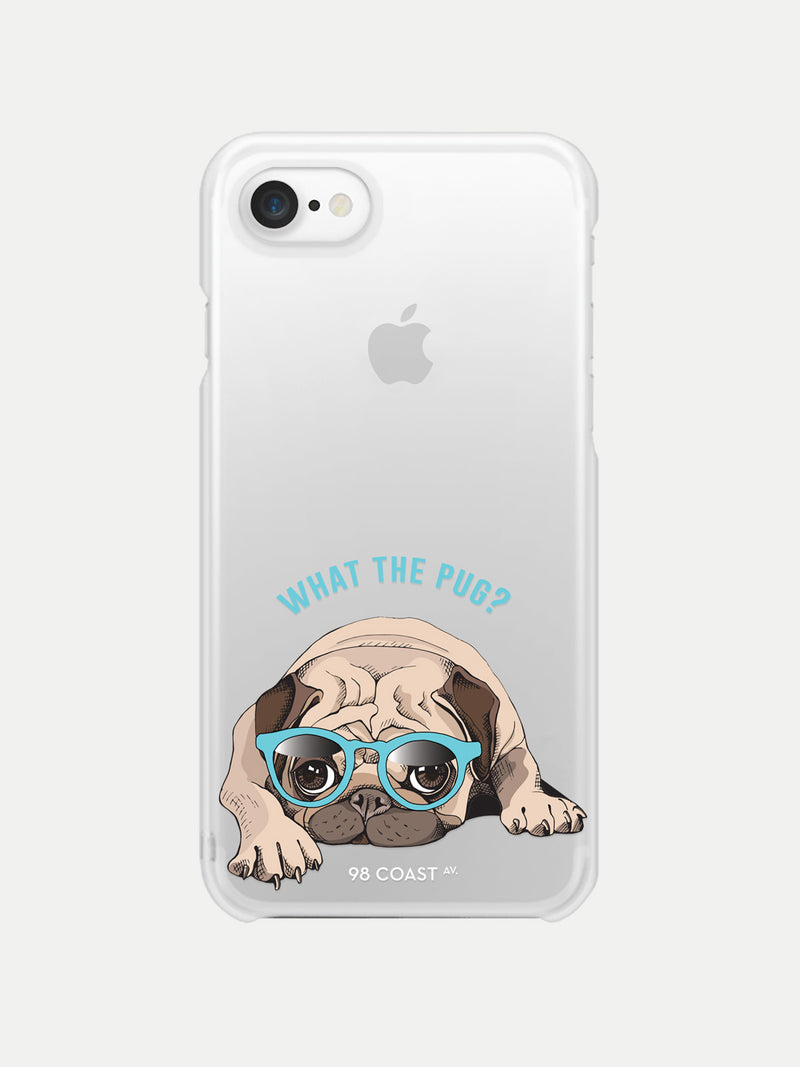 WHAT THE PUG IPHONE CASE