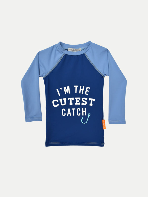 CUTEST CATCH RASH GUARD