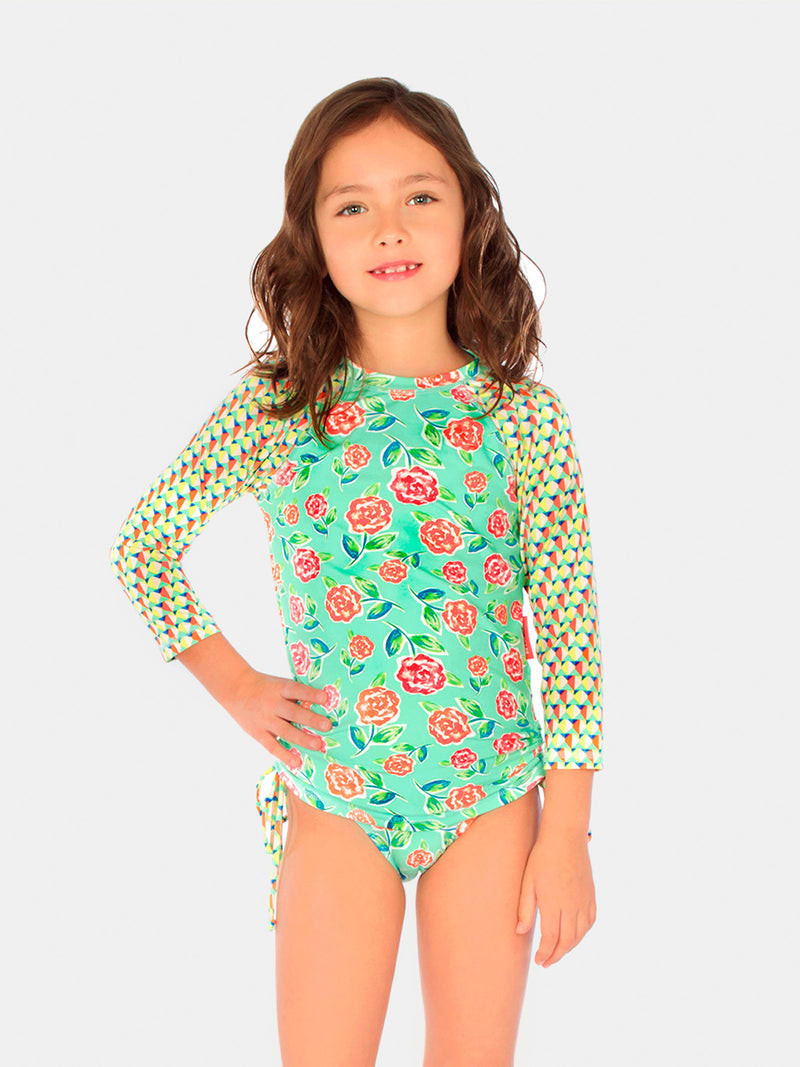 MINT GARDEN RASH GUARD