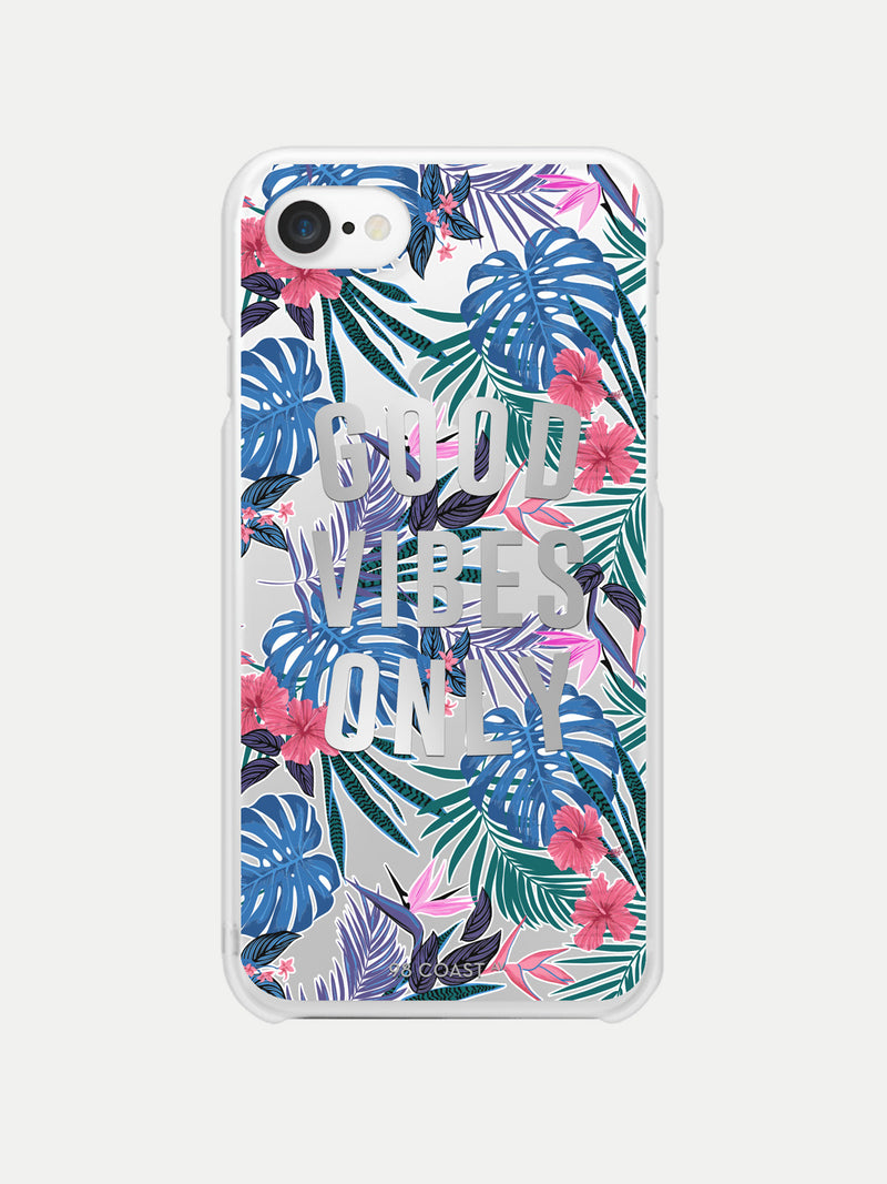 TROPICAL GOOD VIBES IPHONE CASE