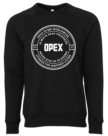 OPEX Unisex Seek Progress Crew Neck Sweatshirt