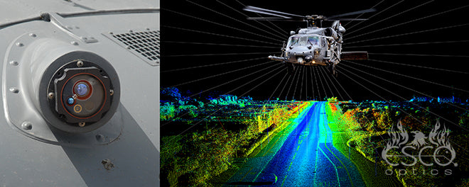 Esco LIDAR and sensing optics