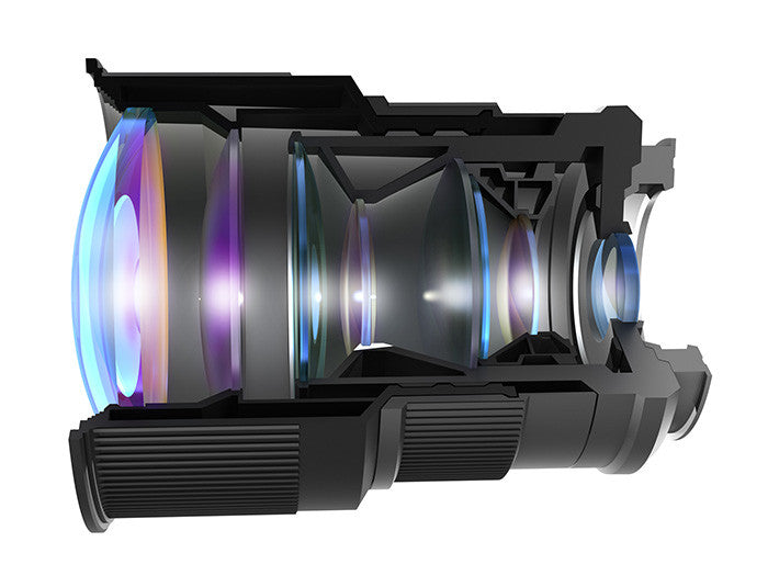 camera lens cross section