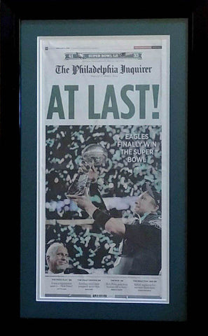 Philadelphia Inquirer Commemorative Super Bowl Championship
