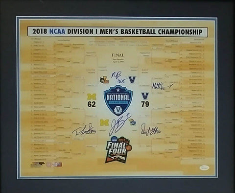 Villanova 2018 NCAA Champions 16x20 Photo