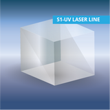 Beamsplitter Cubes, S1-UV Grade Fused Silica for Laser Line