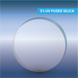 S1-UV Fused silica optical window