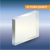 Commercial Quality Windows, Square, A1 Optical Grade Fused Quartz