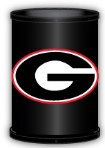 Georgia Bulldogs Trashcan