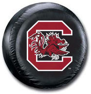 South Carolina Gamecocks Tire Cover