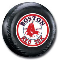 Boston Red Sox Tire Cover