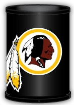 Washington Redskins Trashcan