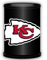 Kansas City Chiefs Trashcan