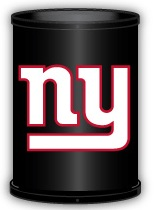 New York Giants Trashcan