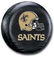 New Orleans Saints Tire Cover