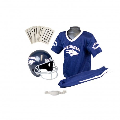 Nevada Wolfpack NCAA Youth Uniform Set - Nevada Wolfpack Uniform Small (ages 4-6)