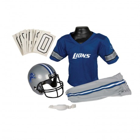 Detroit Lions NFL Youth Uniform Set - Detroit Lions Uniform Small (ages 4-6)