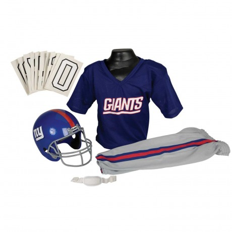 New York Giants NFL Youth Uniform Set - New York Giants Uniform Small (ages 4-6)