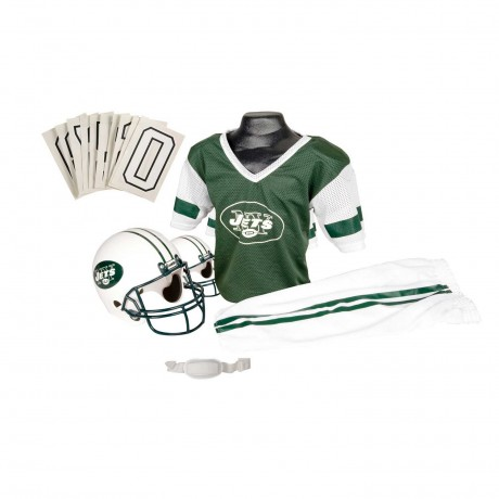 New York Jets NFL Youth Uniform Set - New York Jets Uniform Medium (ages 7-10)