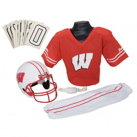 Wisconsin Badgers NCAA Youth Uniform Set - Wisconsin Badgers Uniform Small (ages 4-6)