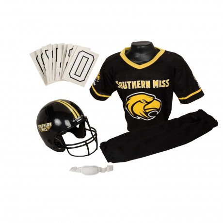 Southern Mississippi Golden Eagles NCAA Youth Uniform Set - Southern Mississippi Golden Eagles Uniform Small (ages 4-6)