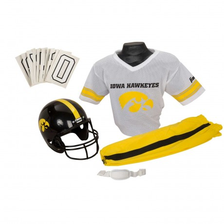 Iowa Hawkeyes NCAA Youth Uniform Set - Iowa Hawkeyes Uniform Medium (ages 7-10)