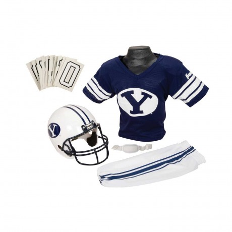Brigham Young Cougars NCAA Youth Uniform Set - Brigham Young Cougars Uniform Medium (ages 7-10)