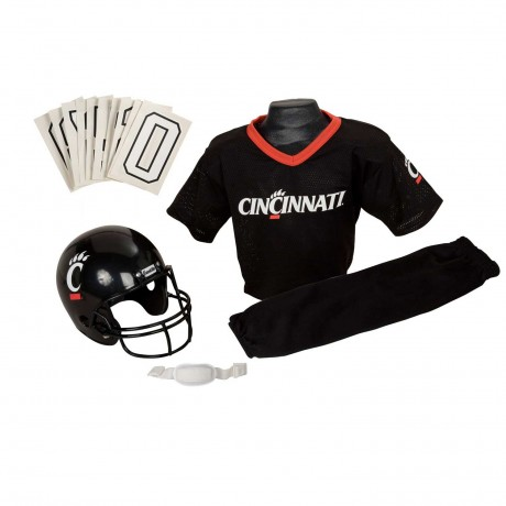 Cincinnati Bearcats NCAA Youth Uniform Set - Cincinnati Bearcats Uniform Small (ages 4-6)