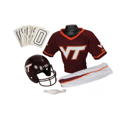 Virginia Tech Hokies NCAA Youth Uniform Set - Virginia Tech Hokies Uniform Small (ages 4-6)