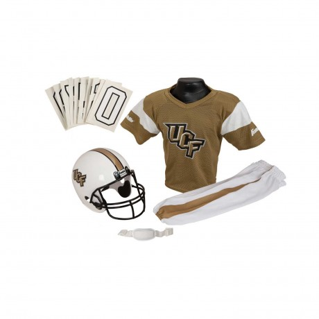 Central Florida Golden Knights NCAA Youth Uniform Set - Central Florida Golden Knights Uniform Medium (ages 7-10)
