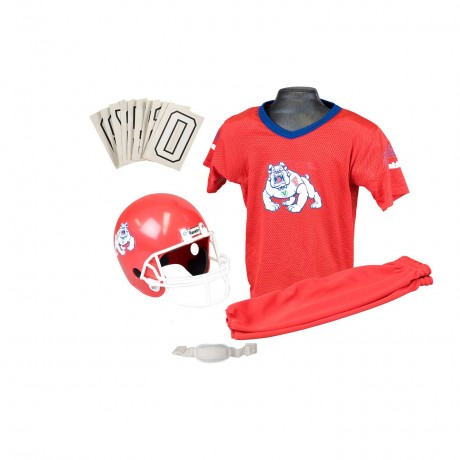 Fresno State Bulldogs NCAA Youth Uniform Set - Fresno State Bulldogs Uniform Medium (ages 7-10)
