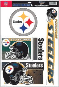Pittsburgh Steelers Static Cling