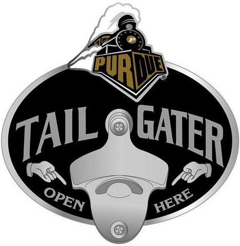 Purdue Boilermakers Bottle Opener Hitch Cover