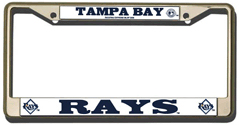 Tampa Bay Rays CHROME License Plate Frame