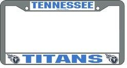Tennessee Titans License Plate Frame Chrome