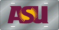 Arizona State Sun Devils License Plate Laser Cut