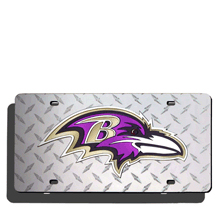 Baltimore Ravens License Plate Laser Tag