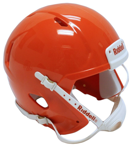 Mini Speed Football Helmet SHELL Orange