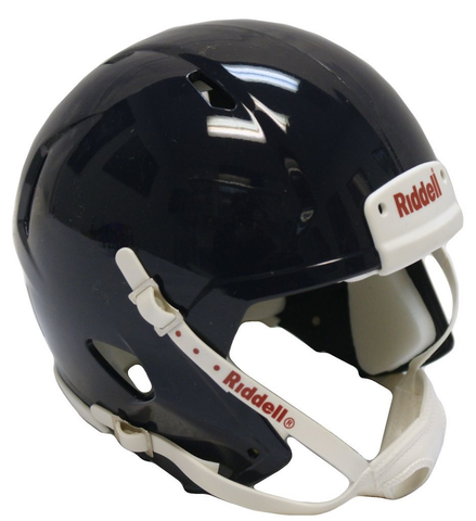 Mini Speed Football Helmet SHELL Navy Metallic