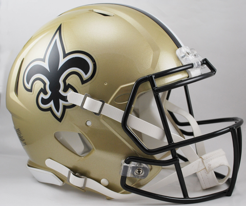 New Orleans Saints Speed Football Helmet