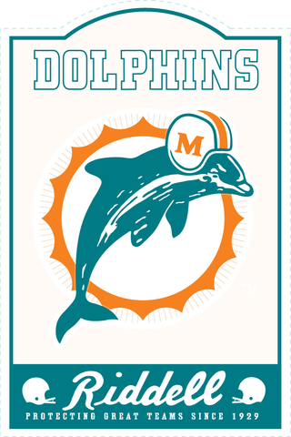 Miami Dolphins NFL Sign