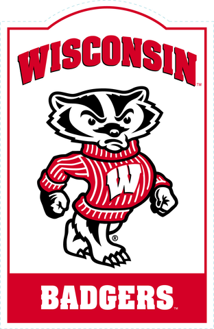 Wisconsin Badgers NCAA Sign