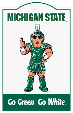 Michigan State Spartans NCAA Sign