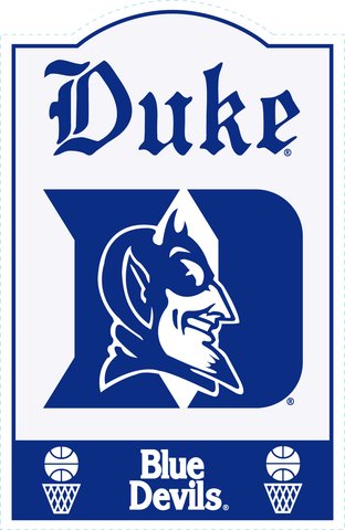 Duke Blue Devils NCAA Sign