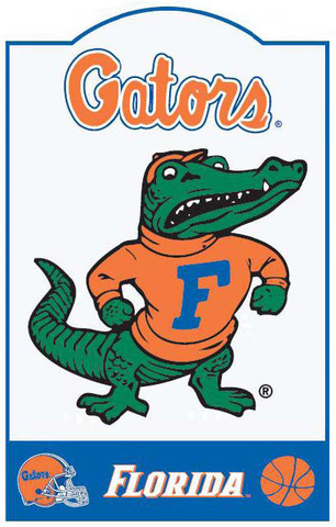 Florida Gators NCAA Sign